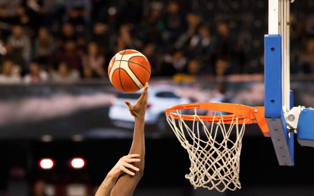Basketball mit Langguth Consulting