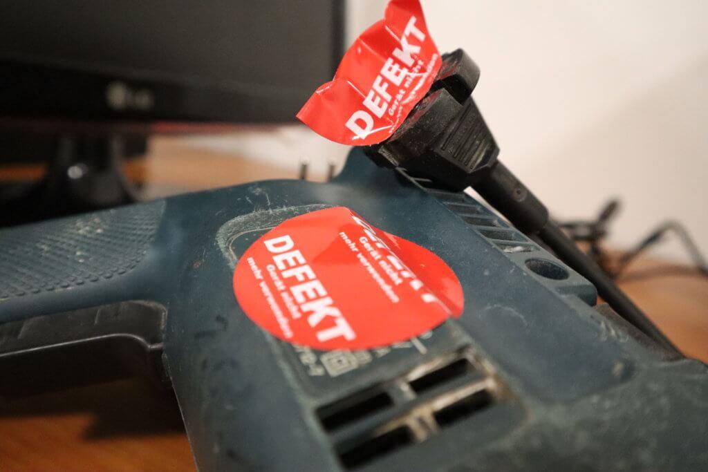 Elektroprüfung defekt