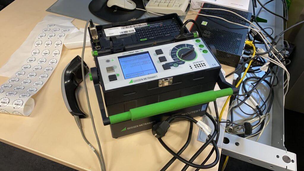 DGUV V3 Prüfung Messgerät